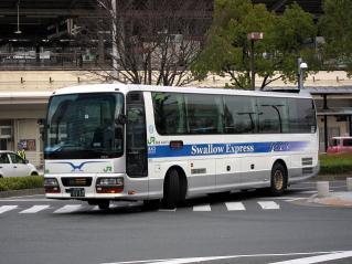 ジェイアールバステック Swallow Express いすゞ ガーラ