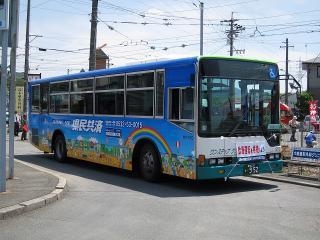 電車代行のバス