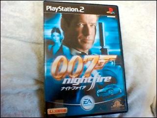007とか懐かしいなぁ。