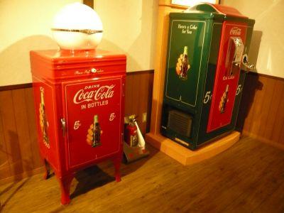 昔のアメリカの自動販売機