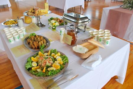 栄光テーブル料理