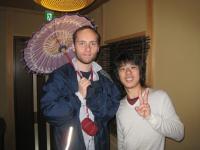 大阪阿倍野ゲストハウスおどりイギリスからのお客さま