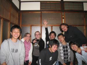 大阪阿倍野古民家ゲストハウスおどりゲストさん20120325