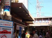 石橋商店街は阪急石橋駅目の前です