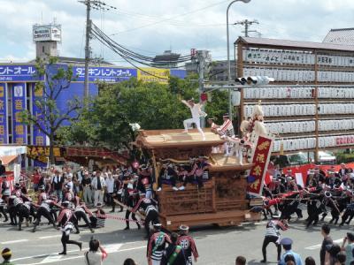 だんじり祭1