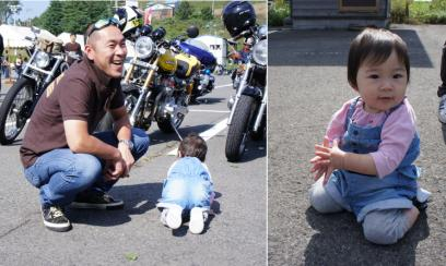バイク好きなミ~ちゃん、めっちゃカワイイ♪