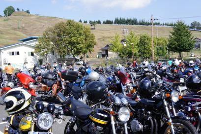いつの間にかバイクがたくさん!