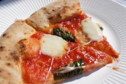 OISHI~NOのピザ。サクモチでおいしかった!
