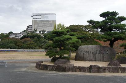 平成の大修復工事中の姫路城に行きました