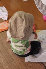 毎日洗える帽子 後ろ