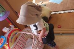 毎日洗える帽子