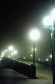 霧の遊歩道