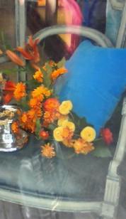 4月27日 Agata オレンジ花