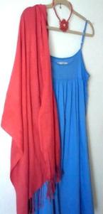 7月2日 赤薔薇&青ドレス