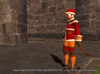 サンタネコというか・・・相方です♪