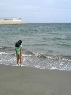 ちひろと海