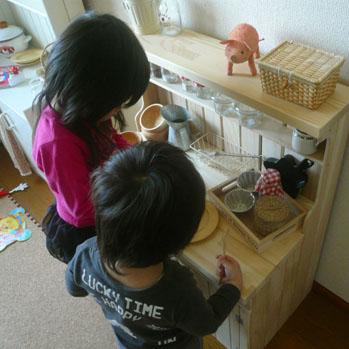 おままごとキッチン見本撮影2