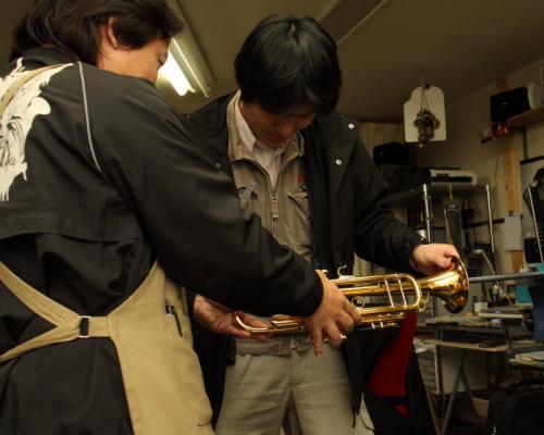 管楽器リペア教室1