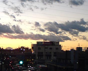 0801夕日