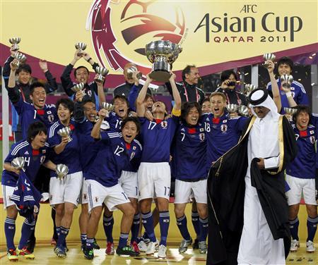 20110130日本、アジアカップに優勝