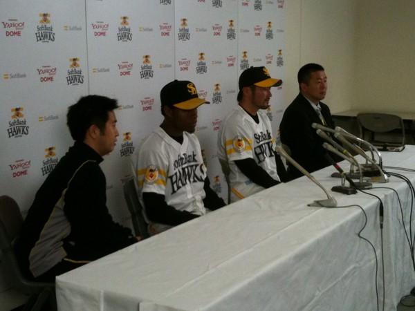 20110307藤田投手とデレオン投手