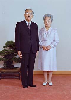20110317在りし日の昭和天皇と香淳皇后