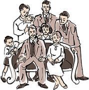 モノクロ家族