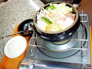 安比のチゲ鍋