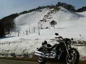 スキー場と