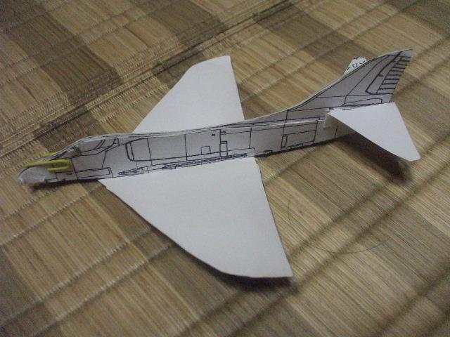 紙飛行機 007