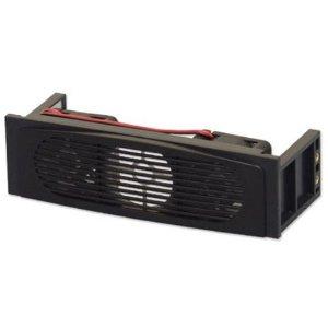 アイネックス 5インチベイHDDクーラー ブラック HDC-502BK