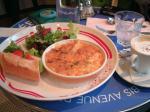 タイガーカフェのサンドイッチ