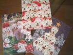 クリスマスカード3種類