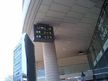 本日の温度
