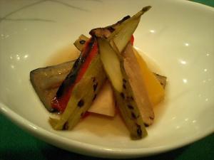 焼野菜のサラダ