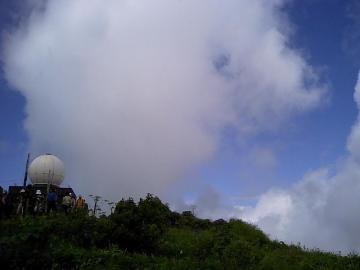 車山気象レーダー