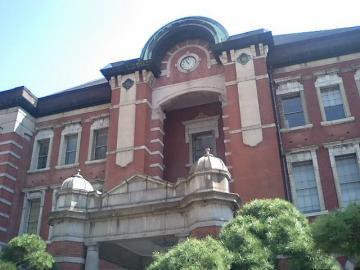 赤レンガ駅舎②