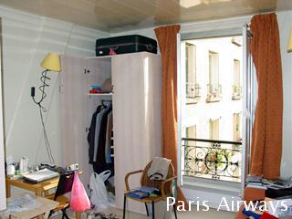 パリ アパート