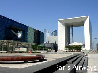 パリ 新凱旋門 grand arche