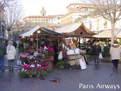 ニース 旧市街 市場