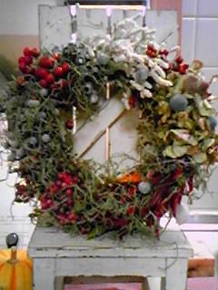 08クリスマスリース