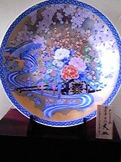 090212有田焼の大皿