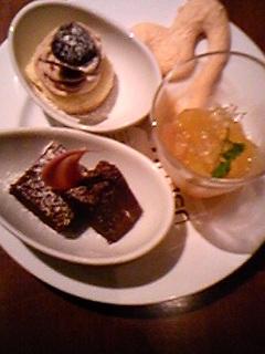 090615お誕生日のミニケーキ