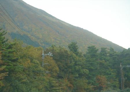 大山の山並み