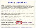 DVD43ダウンロード先