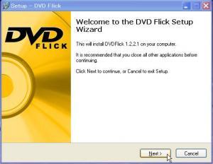 DVD Flick Setup