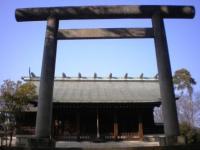 高山神社 正面 高山彦九郎