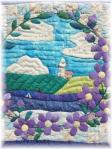 ミヤコワスレの花咲く夏の海 (中心部)
