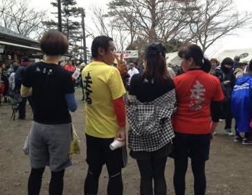 大山登山マラソン ゴール