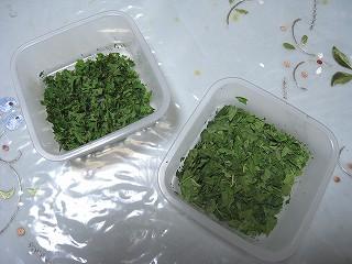 乾燥バジル・パセリ